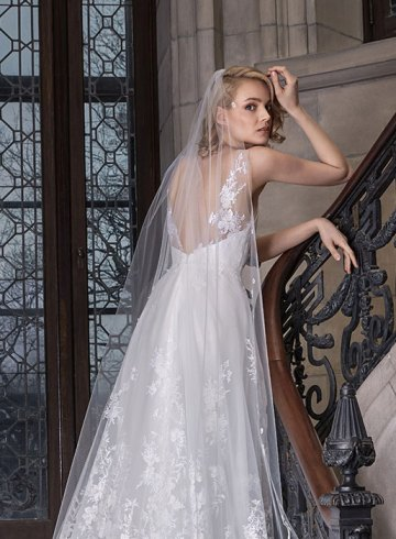 Sareh Nouri Spring 2020 Bridal Collection. www.theweddingnotebook.com
