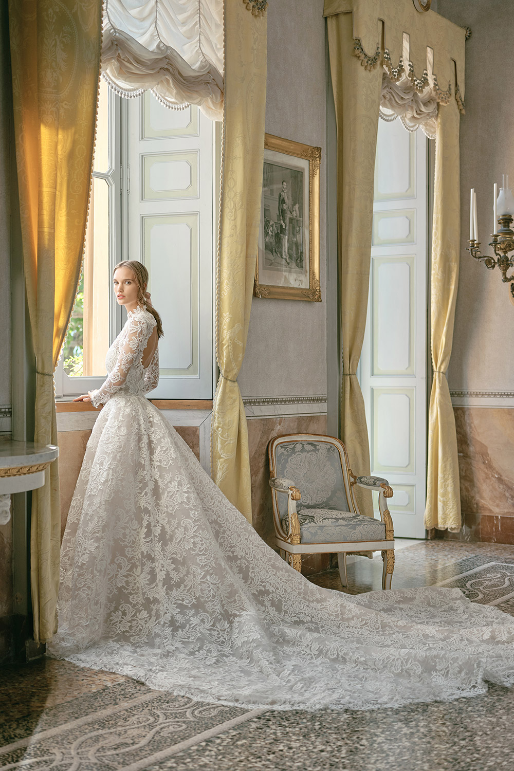 Emilia - Monique Lhuillier Fall 2020 Bridal Collection. www.theweddingnotebook.com