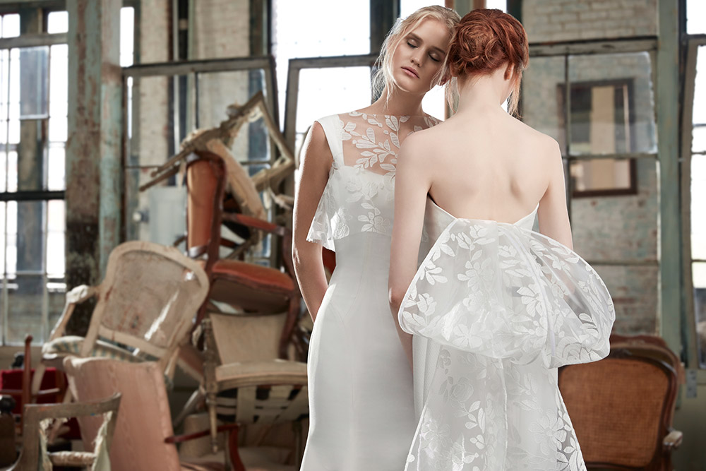 Colette and Claudette - Sareh Nouri Fall 2020 Bridal Collection. www.theweddingnotebook.com