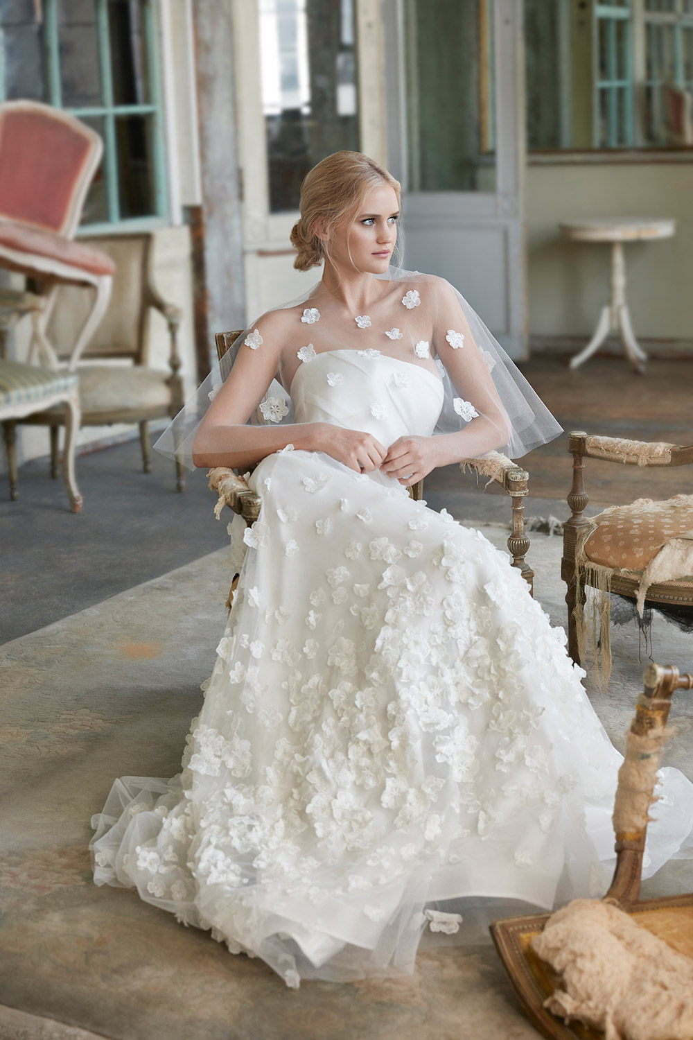 Noelle - Sareh Nouri Fall 2020 Bridal Collection. www.theweddingnotebook.com