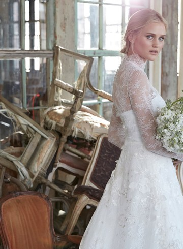 Halette - Sareh Nouri Fall 2020 Bridal Collection. www.theweddingnotebook.com