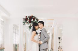 Exchange vows in your own house. Jonlin Photography. www.theweddingnotebook.com