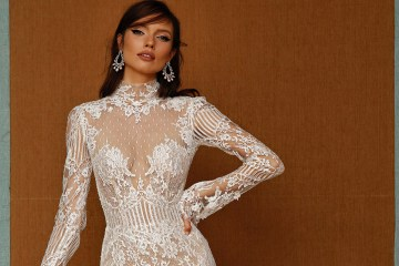 Berta Privee Spring 2021 Collection. www.theweddingnotebook.com