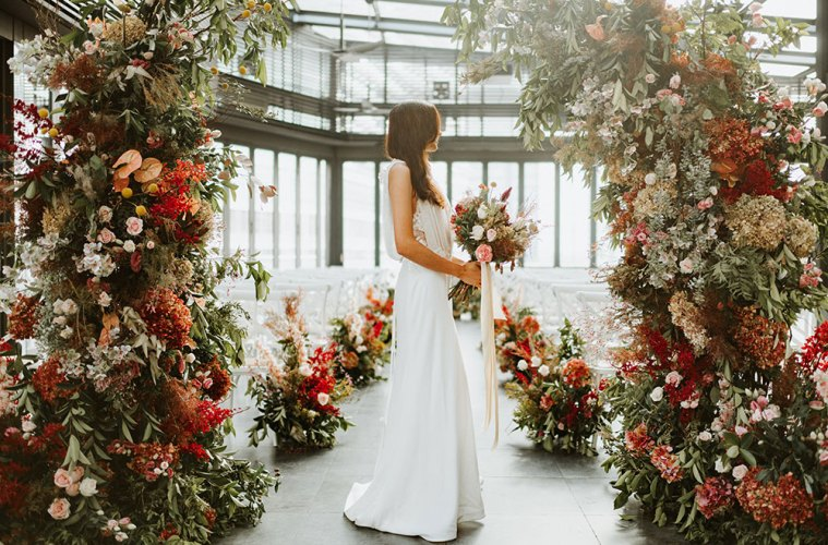 Peter Herman Photography. Le Meridien Kuala Lumpur styled shoot by The Wedding Notebook. www.theweddingnotebook.com