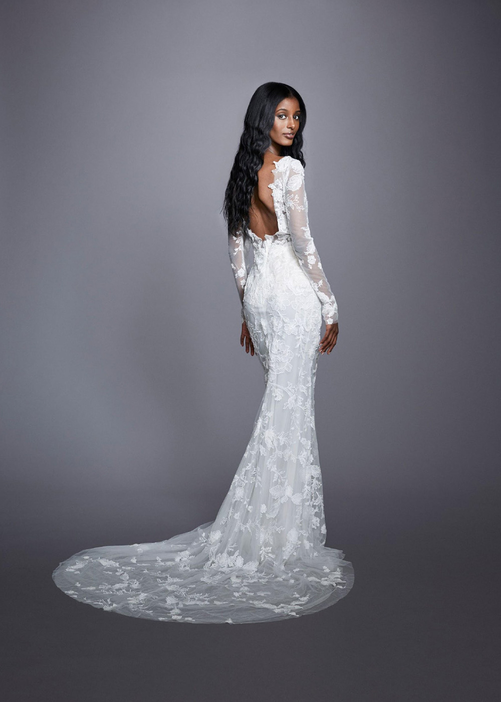 Marchesa Fall 2021 Bridal Collection. www.theweddingnotebook.com