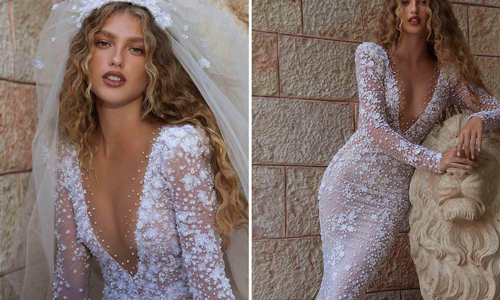 BERTA Bridal Fall 2021 Collection. www.theweddingnotebook.com