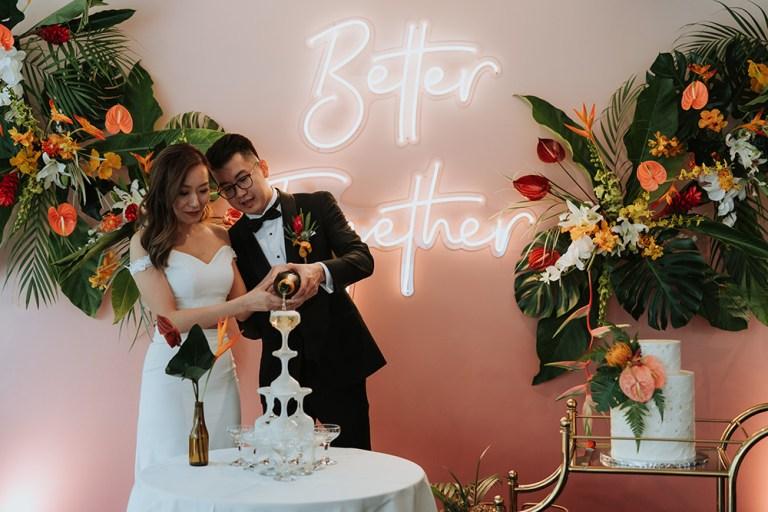 Wedding at Rama V Restaurant, KL. Louis Gan Photography. www.theweddingnotebook.com