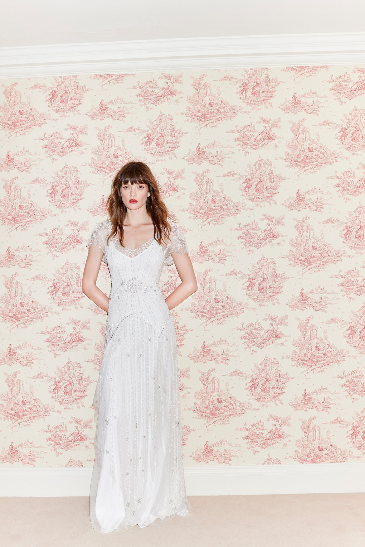 Jenny Packham 2021 Bridal Collection. www.theweddingnotebook.com