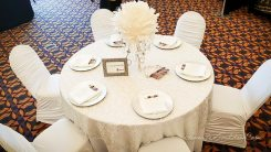 Chair Decor Etc | Newmarket King City Wedding Expo at Kingbridge Centre