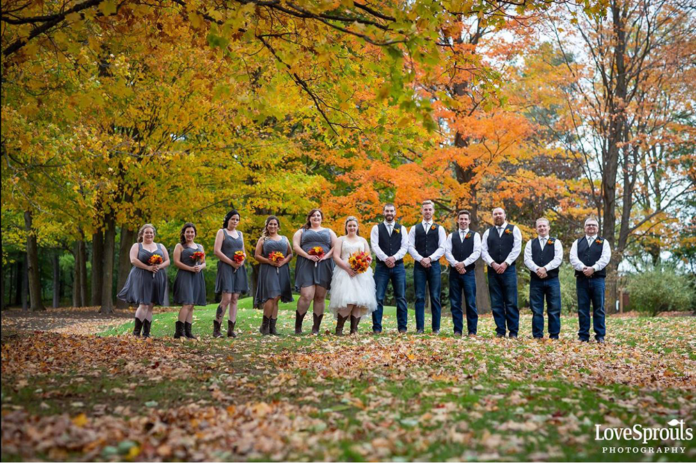 Dundee Country Club Wedding | Photo: Lovesprouts Photography