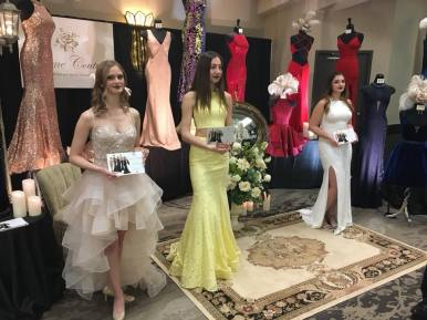 Creme Couture featuring live models from Expressions