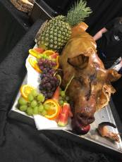 roast pig Photo recap newmarket wedding expo
