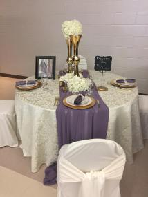 Now & Always Special Event Decor