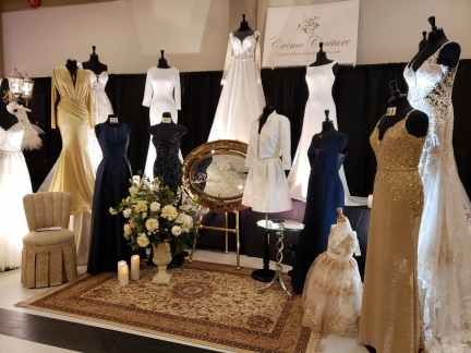 wedding gowns and bridesmaid dresses by creme couture