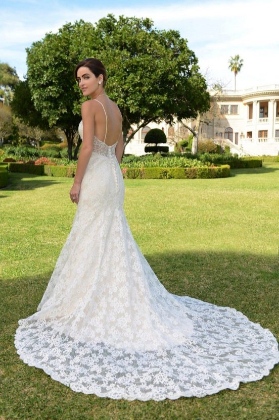 STYLE: BACKLESS Venus Bridal #VE8319 $1840