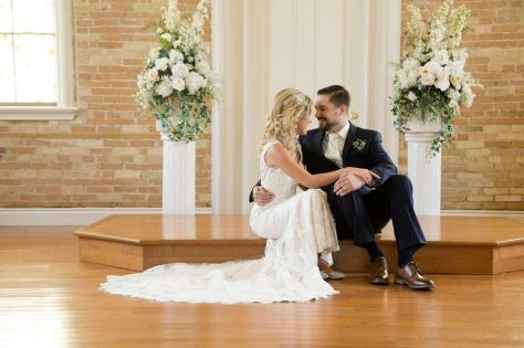 The Rose Chapel, London Ontario, at Best Western Stoneridge Inn | Photo: Amanda Kopic Photography