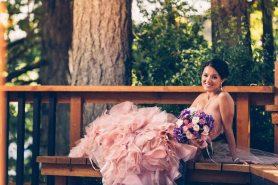 Gorgeous Pink Bridal Gown | Photo: Fetching Image