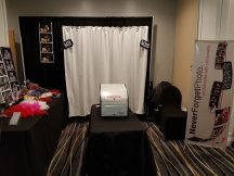 Neverforget Photobooth, Cambridge Expo Fall 2016 at Cambridge Hotel