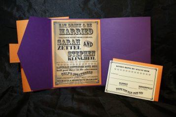 Vintage Fall Fair Makes for Stylish Invitations