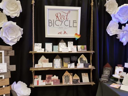 Red Bicycle Paper Co at The Ring's Wedding Expo!