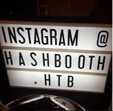 Photo: Hashtag Booth