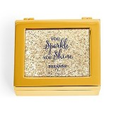 Small Personalized Jewelry Box - Sparkle Shine