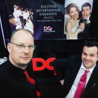 Sam from Music Central & David from DCF Wedding Music | Photo: Sam from Music Central