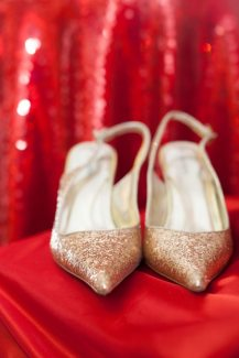 Gold Shoes - Mirror Mirror Design Palette | Photo: Lilly Ann Photography