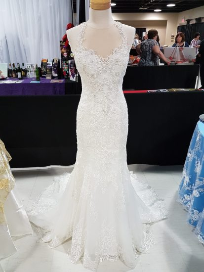 Gown by Sherry's Bridal