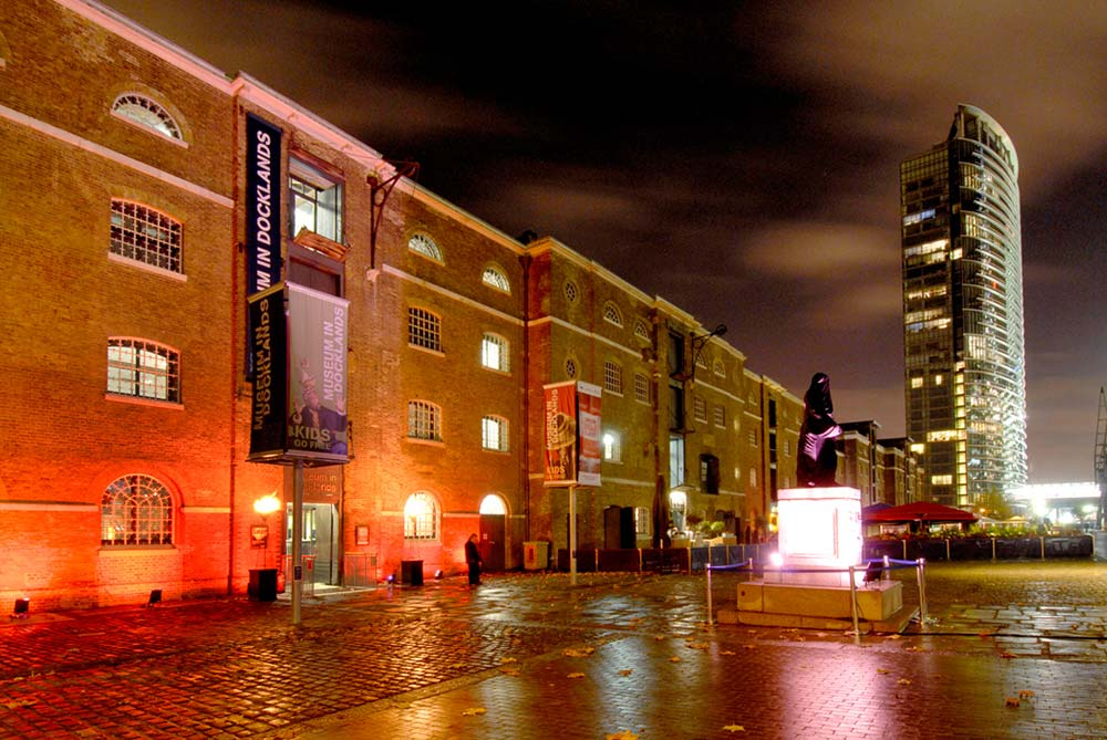 Museum Of London Dockland Wedding Venue In Canary Wharf