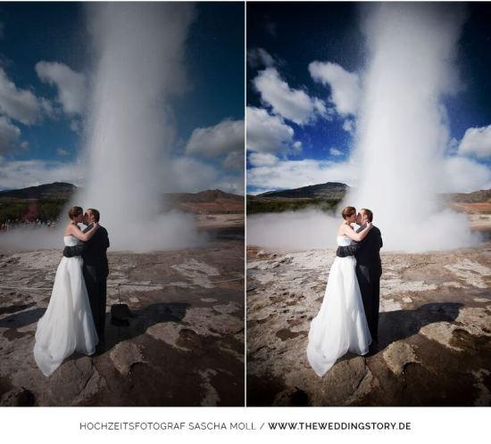 Bildbearbeitung Hochzeitsfotos