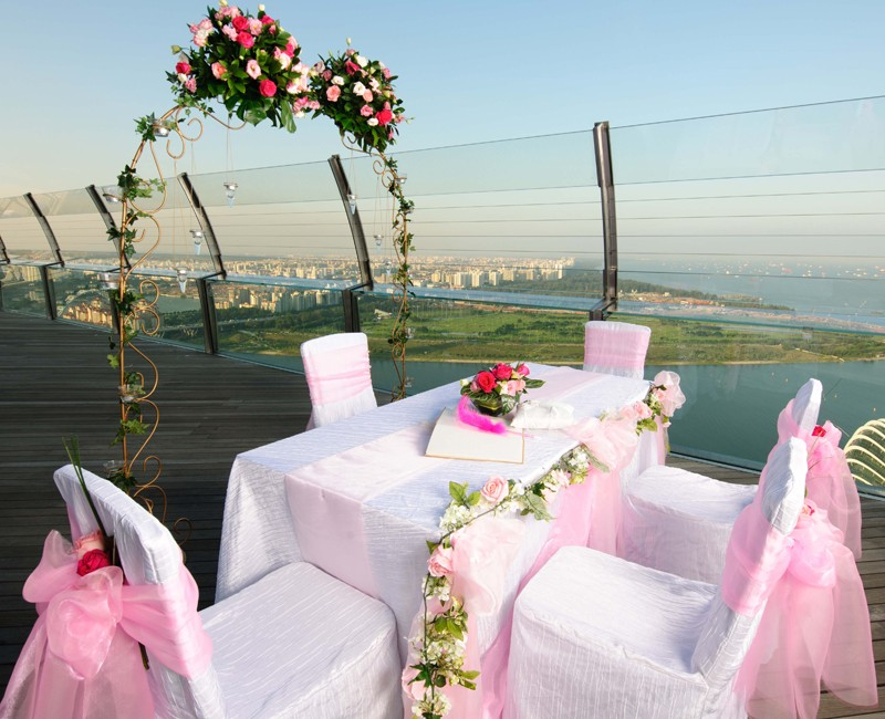 Sands Skypark Unique Wedding Venues Singapore