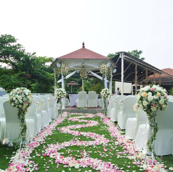 wedding florists singapore Far East Flora