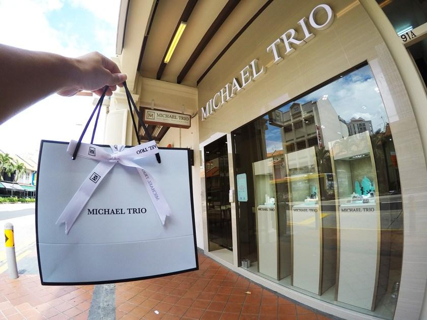 Michael Trio Engagement Rings Singapore 14