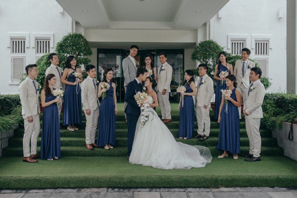 cost of wedding bridal party singapore