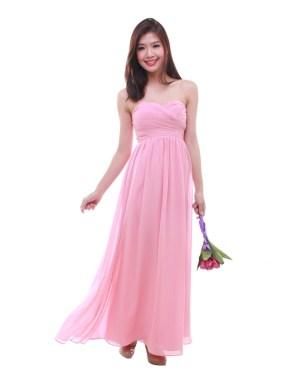 thebmdshop bridesmaid cleo maxi blush 1