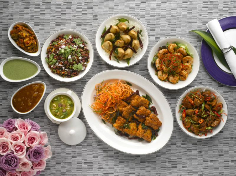 Appetizers from the Indian Menu