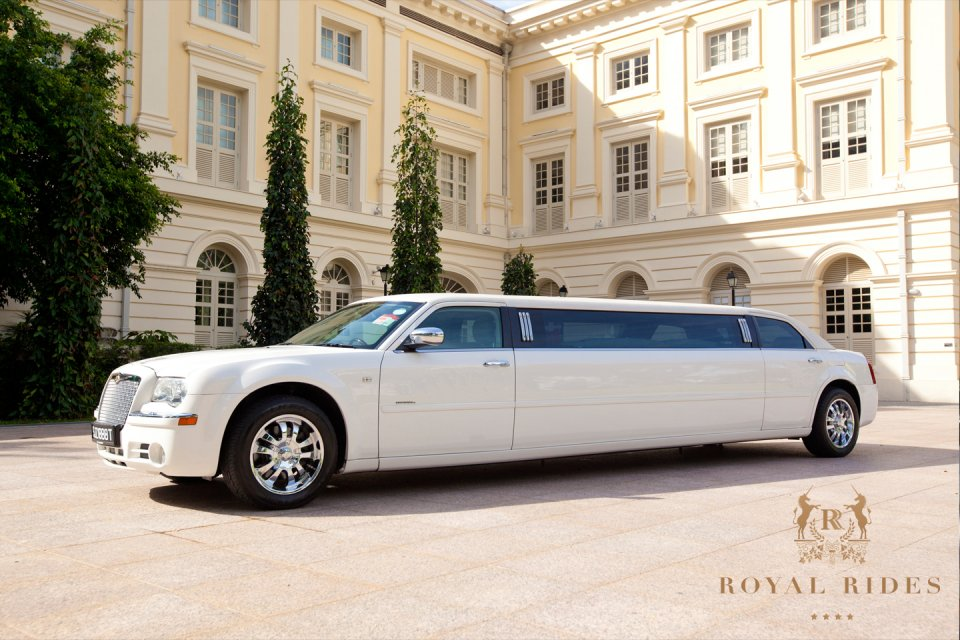 Royal Rides Wedding Car Rental Singapore Chrysler Limousine