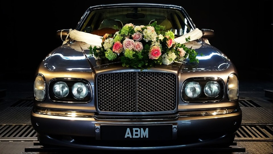 Wedding Car Rental Singapore Bentley Arnage Wedding Limo Vintage