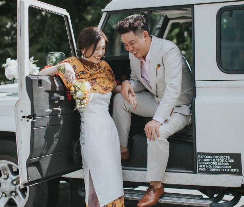 Studio HHFZ Wedding Gown Singapore