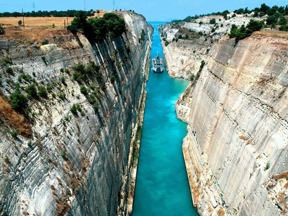 Corinth Canal, Photo by Imgur