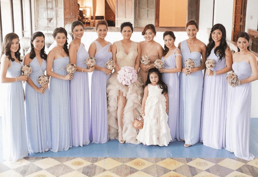 Bridesmaids Dress Shops - Veronica Velayo - Bride and Breakfast