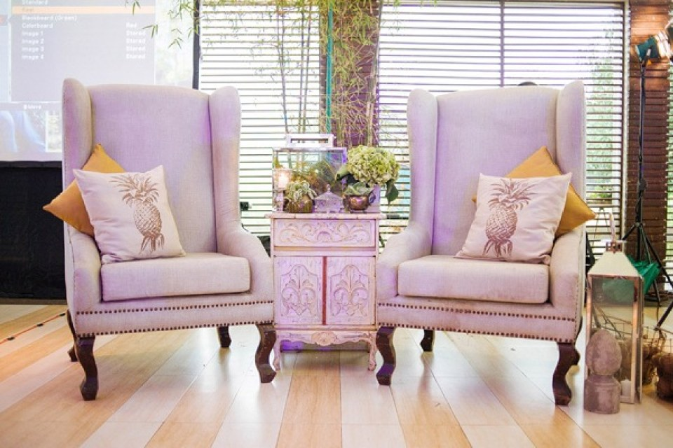 rent wedding chairs - Windsor & Tiffany - Bride and Breakfast