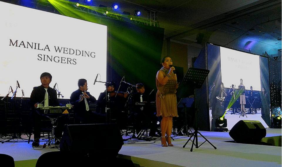 music bands wedding reception - Manila Wedding Singers - Facebook