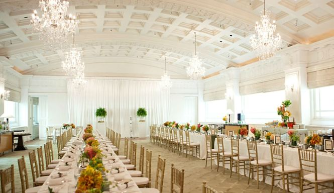 Fullerton Wedding - The Straits Room