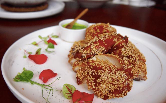 Crispy Roasted Chicken - Tasting Lunch Set VLV Restaurant