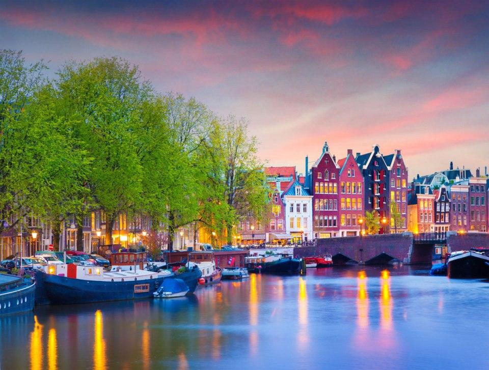 Europe Honeymoon Amsterdam Netherlands