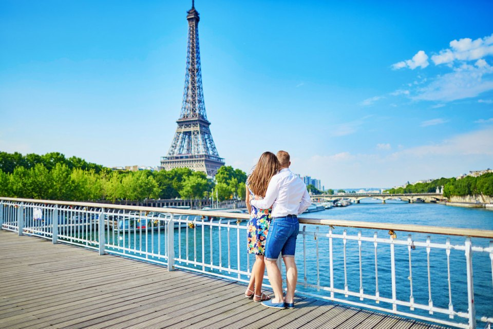 Europe Honeymoon Paris France