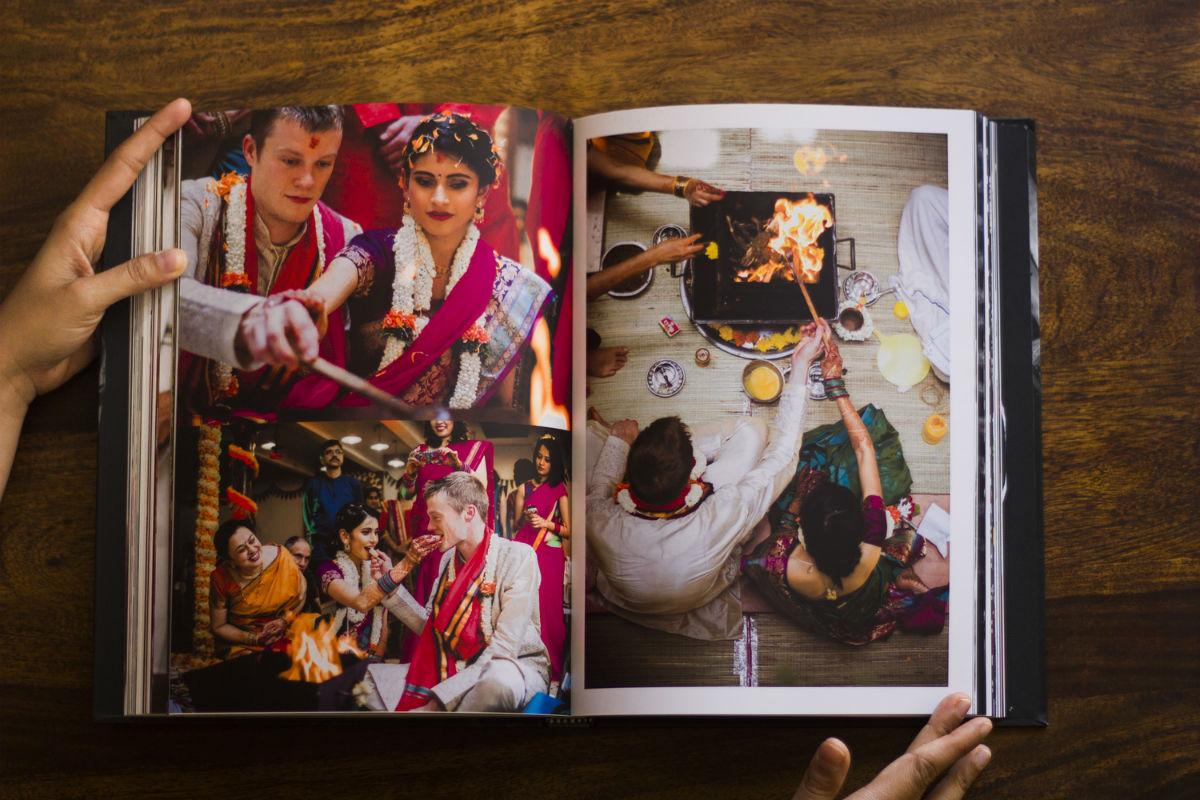 Image result for wedding album india