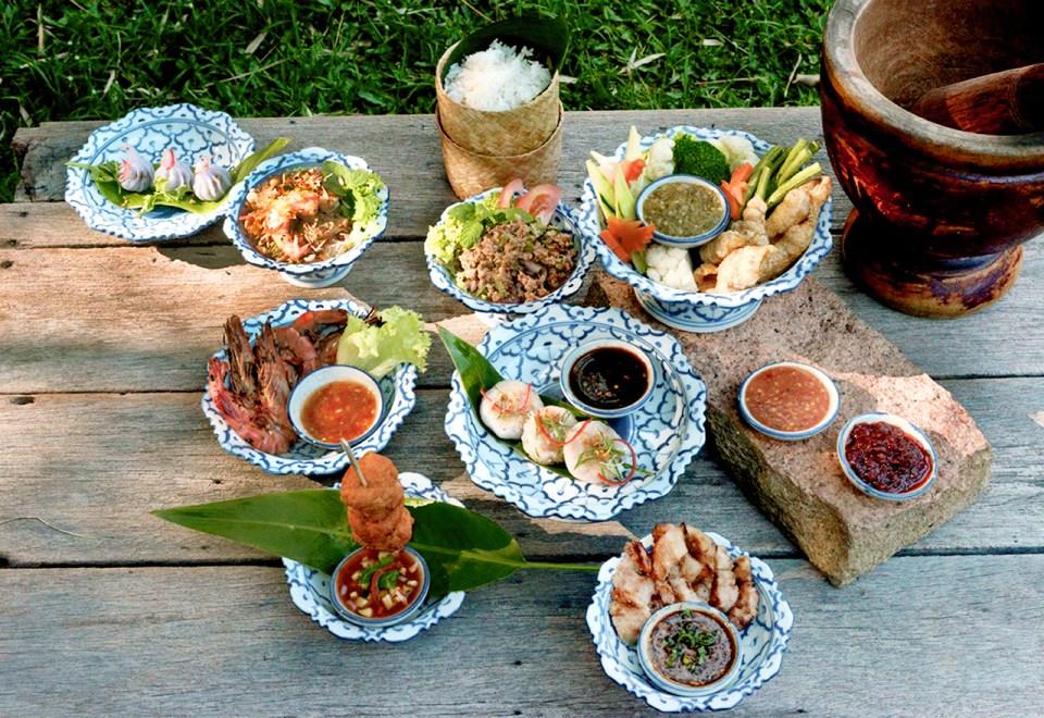 Thai Street Food Menu Tamarind Hill